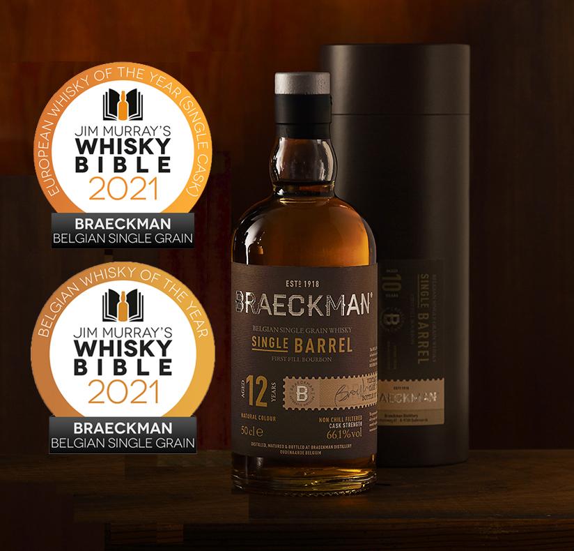 Europese en Belgische whisky van het jaar met een score van 96,5